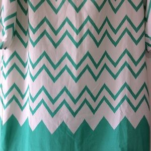Pink Owl Dresses - Never Worn Pink Owl Turquoise Shift Dress Large